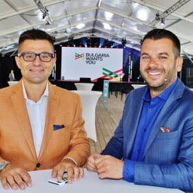 Ivan and Andrey presented Bulgaria Wants You - the new platform for career and life in Bulgaria image